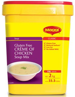 CREME OF CHICKEN SOUP MIX  CONT GFREE x 1.6kg (6)