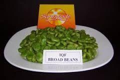 BROAD BEANS SUNNYSIDE x 1kg (12)