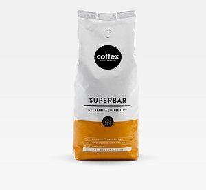 SUPERBAR COFFEE BEANS COFFEX x 1kg (10)