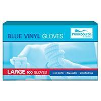 LARGE BLUE GLOVES x 100 (10)