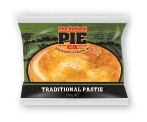 PASTIE MEAT VEGETABLE OUTBACK 12 x 180g
