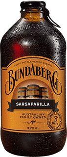 SARSPARILLA BUNDABERG 12 x 375ml