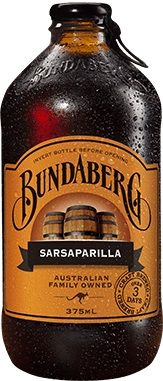 SARSPARILLA BUNDABERG 12 x 375ml
