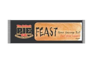 FEAST GIANT SAUSAGE ROLL OUTBACK 18 x 180g