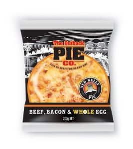 NED KELLY PIE OUTBACK 12 x 200g