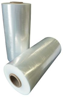 PALLET WRAP CLEAR 500mm x 450m x 20um BLOWN (4)