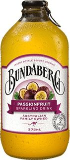 PASSIONFRUIT BUNDABERG DRINK 12 x 375ml