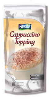 CAPPUCCINO TOPPING SOFT PACK NESTLE x 750g (8)