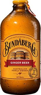 GINGER BEER BUNDABERG 24 x 375ml