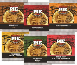 MIXED CARTON 6 PIES OUTBACK 12 x 200g