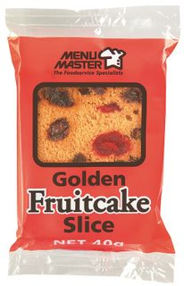 FRUIT CAKE PORTIONS MMASTER 40g x 120