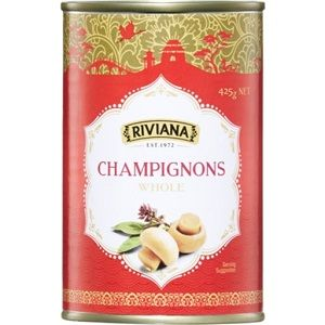 CHAMPIGNONS WHOLE RIVIANA x 425g (6)