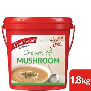 MUSHROOM SOUP MIX CONTINENTAL GFREE x 1.7kg (6)