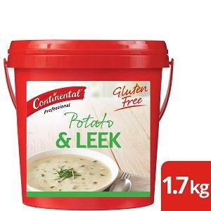 POTATO LEEK SOUP MIX CONTINENTAL GFREE x 1.7kg (6)