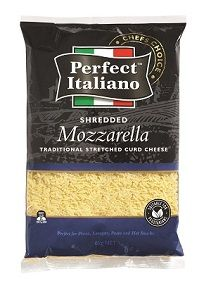 PERFECT SHREDDED MOZZARELLA CHEESE x 6kg (2)