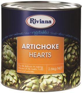 ARTICHOKE HEARTS RIVIANA GFREE x 2.5kg (3)