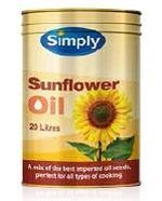 SUNFLOWER OIL SIMPLY x 20lt