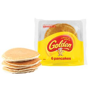 GOLDEN PANCAKES TIP TOP FROZEN (9066) 30 x 60g