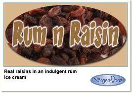 RUM AND RAISIN SCOOP NVAAZ x 5lt