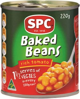 220g BAKED BEANS SPC GFREE x 24