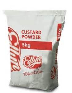 CUSTARD POWDER MAIZE EDLYN GFREE x 5kg
