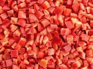 RED DICED CAPSICUM SUNNYSIDE x 1kg (12)