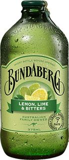 LEMON LIME BITTERS BUNDABERG 12 x 375ml