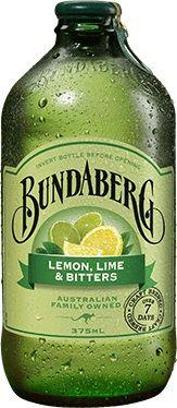 LEMON LIME BITTERS BUNDABERG 12 x 375ml
