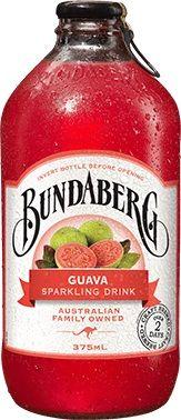 GUAVA DRINK BUNDABERG 12 x 375ml