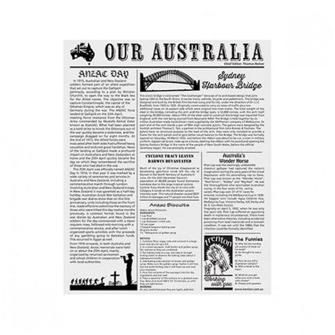 AUSTRALIA NEWSPRINT GPROOF PAPER x 200 (10)