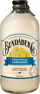TRADITIONAL LEMONADE BUNDABERG DRINK 12 x 375ml