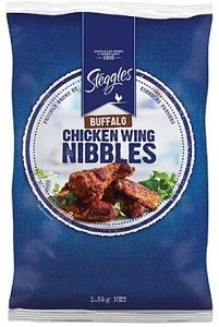 BUFFALO WINGS CHICKEN STEGGLES x 1.5kg (4)