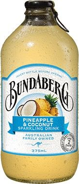 PINEAPPLE COCONUT BUNDABERG 12 x 375ml