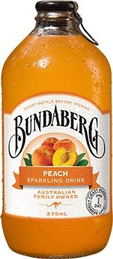 PEACH BUNDABERG 12 x 375ml