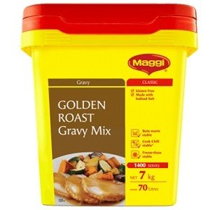 GOLDEN ROAST GRAVY MIX MAGGI x 2kg (6)