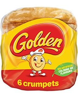 CRUMPETS GOLDEN TIP TOP x 72