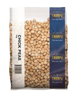 CHICK PEAS DRIED TRUMPS x 1kg (6)
