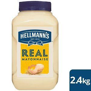 HELLMANS REAL MAYONAISE x 2.4kg (4)