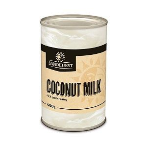 COCONUT MILK SANDHURST GFREE x 400ml (24)