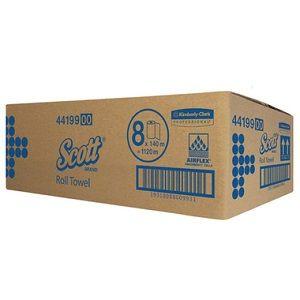 KC SCOTT ROLL TOWEL 140mt 44199 x 8