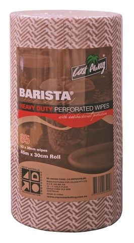 ROLL WIPES BROWN CAWAYx 85 WIPES (4)