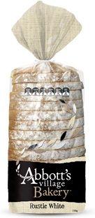 ABBOTTS WHITE SLICED BREAD FROZEN 700g x 6