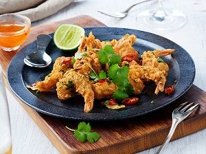 DOUBLE CRUNCH SALT PEPPER PRAWNS I&J x 1kg (5)