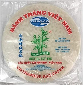 RICE PAPER TUFOCO 22cm x 10 SHEETS