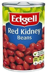 EDGELL RED KIDNEY BEANS x 420ml (10)