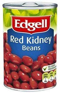 EDGELL RED KIDNEY BEANS x 420ml (10)