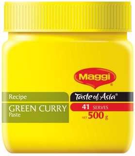 GREEN CURRY PASTE MAGGI x 500gm (6)