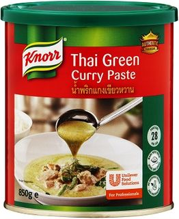 THAI GREEN CURRY PASTE KNORR x 850g (6)