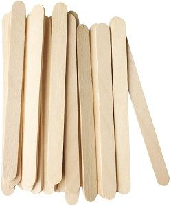 LOLLY POP STICK WOODEN 114mm x 1000