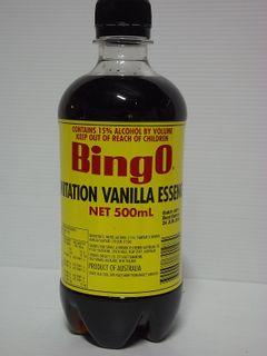 VANILLA ESSENCE IMITAT BINGO x 500ml (12)